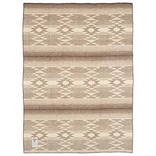 Woolrich Home 92008 Somerton Jacquard-Decke, 127 x 178 cm, Braun Woolrich Throw