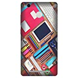 Citydreamz Stationary Pencil Box Colors Notes Diary Paint Brushes Hard Polycarbonate Designer Back Case Cover For Xiaomi Redmi Mi 4A