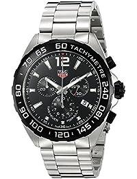 TAG Heuer Herren-Armbanduhr 43mm Armband Edelstahl Gehäuse + Schweizer Quarz Chronograph CAZ1010.BA0842