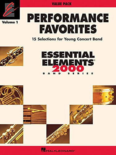 Performance Favorites, Volume 1: Value Pak (37 Part Books, Conductor Score & CD) -
