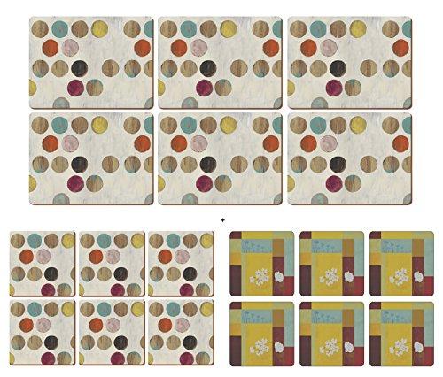 creative-tops-rtrospotlot-de-6sets-de-table-6dessous-de-verre-6bonus-gratuit-de-plymouth