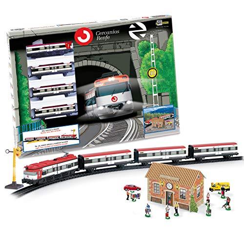 PEQUETREN Servicios E Industrias Del Juguete 66-675 - Tren De Cercanias Renfe...