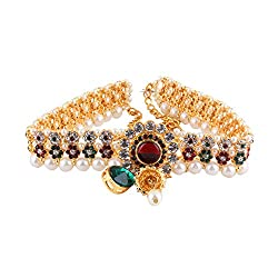 Darsha collections kamarband with full of color stones gives perfect look for your any celebration.