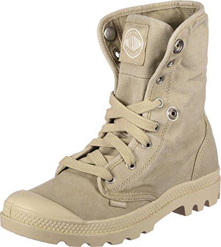 Palladium Baggy, Sneaker a Collo Alto Donna Beige (Sahara/écru F90)
