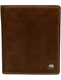 Brown Bear Geldbörse Leder vintage braun Country 3