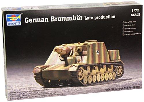 Trumpeter 07212 Modellbausatz German Brummbär Late Production