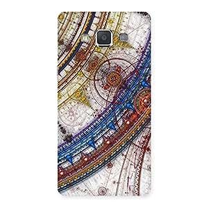 Impressive Sonarp Multicolor Back Case Cover for Galaxy Grand 3