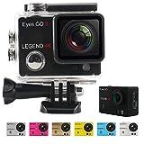 """L'Eyes GO 3 LEGEND 4K sono una cinepresa di sport con una modo foto di 16 mégapixels ed un risoluzione video in Alta definizione 4K, è disponibile in 7 tinte differenti, tutte incluse nella banchisa, ed un schermo LCD di 1,5"""" è integrato alla..."""