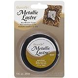 Deco Art Americana Metallic Lustre Jar Of Paint, Acrylic, Gold Rush, 15 x 10 x 2.50 cm
