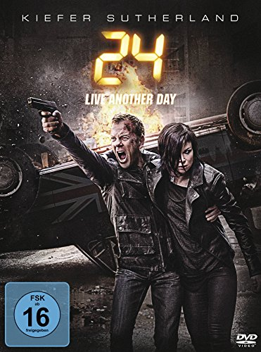 24: Live Another Day [4 DVDs] (Film-dvd Fury)