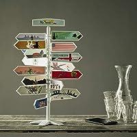 Arbol de Viajes - kit inicial. Decoración viajes. Regalo para Viajeros. Recuerdo de Viajes. Colección de souvenir de viajes. Apasionado de los viajes.