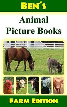 Descargar PDF Gratis Ben's Animal Picture Book: Farm Edition (Ben's Animal Picture Books Book 2)