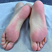 Foot Fetishes foot toy-Silicone Mannequin Foot Foot fetish- 36A   girl foot model - Visible blood vessels newly developed 2019 ankle hobby - foot culture art model simulation foot.