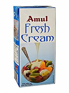 Amul Fresh Cream, 1L, Packaging May Vary
