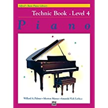 Alfred's Basic Piano Library, Technic Book 4: Learn How to Play Piano with this Esteemed Method