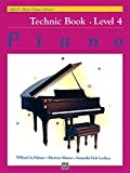 Alfred's Basic Piano Library, Technic Book 4: Learn How to Play Piano with this Esteemed Method (English Edition)