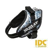 Latz Julius-K9IDC Powerharness Jeans Mini–Robust Latz-Jeans, verstellbar aus Nylon, für Hunde