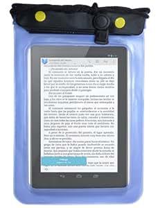 Boîtier étanche – étui – pochette pour Asus Google Nexus 7 - Tablet PC – avec protecteur d'écran - Bleu