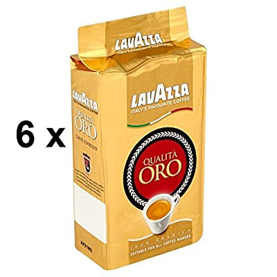 Lavazza Oro ground coffee 250g x 6 from Coffea Online com
