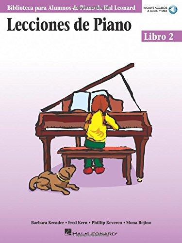 Lecciones de Piano 2 Piano (incluye accesos a audio y midi) (Biblioteca Para Alumnos de Piano de Hal Leonard) por Barbara Kreader