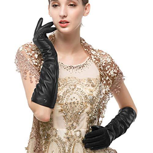 guanti lunghi pelle donna Nappaglo donne lungo nappa