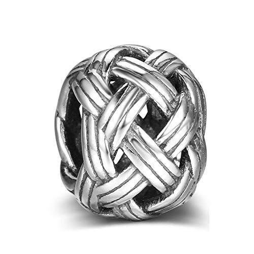 Ball von Garn Perlen Charm Authentic 925Sterling Silber für Pandora & alle Europäische Charm-Armbänder und Ketten