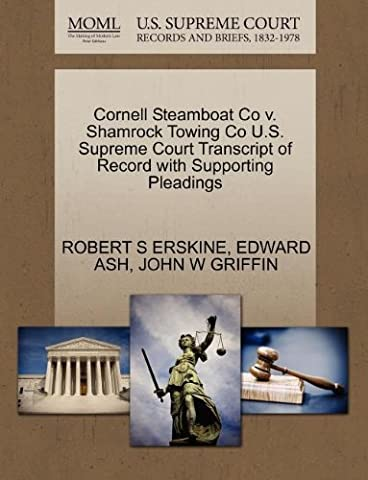 Cornell Steamboat Co v. Shamrock Towing Co U.S. Supreme Court