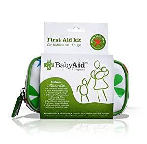 Baby Aid - Baby Aid Compact - Travel First Aid Kit for kids, toddlers, and babies - Perfect for on the go
