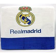 MANTEROL - Juego de Sábanas coralina Oficial REAL MADRID CF Silk Estadio 498 Cama 90