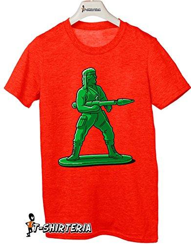 T-shirt Super Mini Soldier - Tutte le taglie by tshirteria Rosso