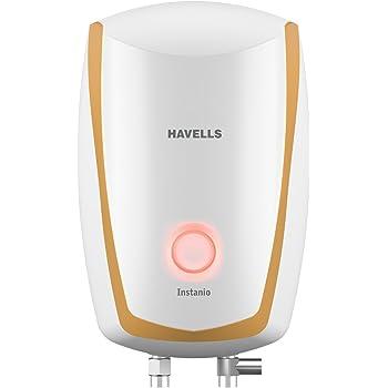 Havells Instanio 3-Litre Instant Water Heater (White/Mustard)