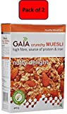 #7: Gaia Nutty Delight Muesli, 400G (Pack of 2)