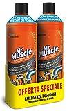 Mr Muscle Idraulico Gel – Disgorgante per tubature e scarichi – Pacco speciale da 2 x 1000 ml