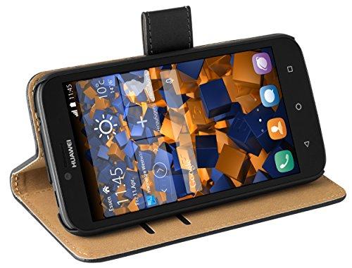 mumbi Tasche im Bookstyle für Huawei Y625 Tasche