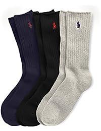 RALPH LAUREN - Chaussettes - lot de 3 paires de chaussettes