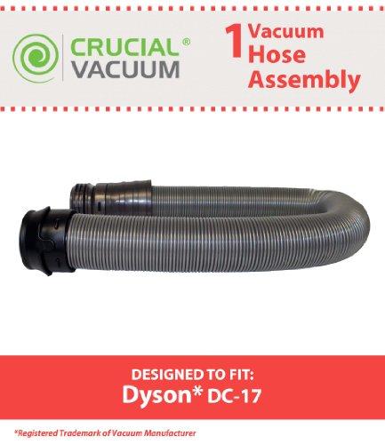Dyson DC17Drucker Saugleistung und komplett mit Schlauch; Passend für alle Dyson DC17(DC-17) Staubsauger Versammlung wie Dyson DC17Animal, DC17Asthma und Allergien, DC17Total reinigt; Vergleichen zu Teil # 911645–07, 911645–02, 911645–04, 911645–05; Entworfen und Hergestellt von Crucial Vakuum