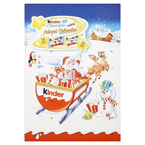 Kinder Seasonal Advent Calendar Chocolates, 135 g, Pack of 3