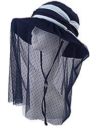 Marea se puede doblar para cubrir la pantalla gafas de sol sombrero de sol grande a lo largo de la protección solar al aire libre cuatro colores están disponibles ( Color : 4 )