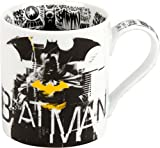 Könitz 1116182087 Kaffeebecher, Batman Knight Time Porzellan, Mehrfarbig, 12.5 x 8.5 x 9.3 cm