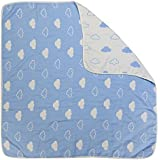 Kassy Pop Double Layered Cotton Baby Blanket, Highly Absorbent, Extra Soft And Light, AUTHENTIC, REUSABLE, UNISEX