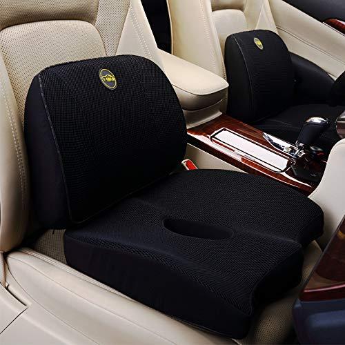 WMTW Gedächtnis-Baumwolltaillen-Kissen-Kissen-Büro-Kolben-Auflage-Kolben-Zunahme-Verdickung Autositz-Rückenlehnen-Auflage I