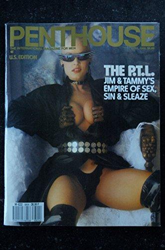 PENTHOUSE US 1988/04 Delia Sheppard Miranda Lee Morgan Jackie Mason Mary Stout Texas Vice John Cummings