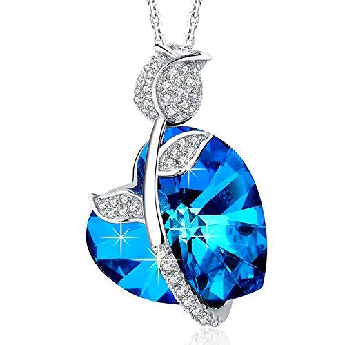 mega-creative-jewelry-rose-fantasie-damen-kette-mit-kristallen-von-swarovski-halskette-silber-schmuc