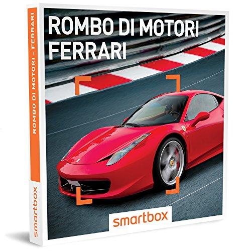 Smartbox Cofanetto Regalo- ROMBO DI MOTORI - FERRARI - 23 esperienze di guida sportiva su Ferrari