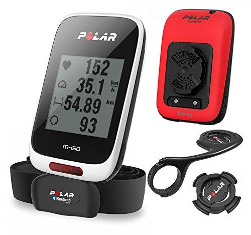 polar-m450-hr-limited-edition-computer-da-bicicletta-bianco-taglia-unica