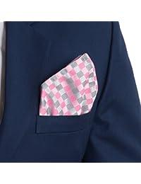 Vibhavari Men's Pink Pocket Square