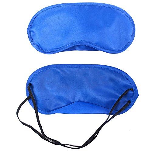 YEARNLY 1 STÜCK Neue Reiner Seide Schlaf Augenmaske Gepolsterte Schatten Abdeckung Reise Entspannen Aid Licht blockieren Schlafmaske