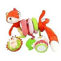 Cheefull Stroller Car Seat Toy Kids Baby Bed Crib Cot Pram Hanging Giraffe Toy Pendant with Ringing Bell