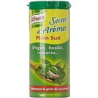 Knorr Secret d'Arômes Plein Sud la Boîte de 60 g - Lot de 4
