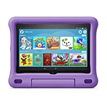 Kid-Proof Case for Fire HD 8 tablet | Compatible with 10th generation tablet (2020 release), Purple